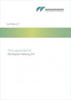 Datenblatt DELTAguard Tiefabzug