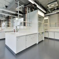 Laboreinrichtung Labor Abzug Laborzeile Spüle