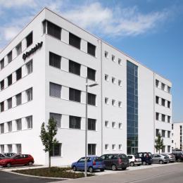 Laborgebäude Rentschler Biotechnologie Laupheim