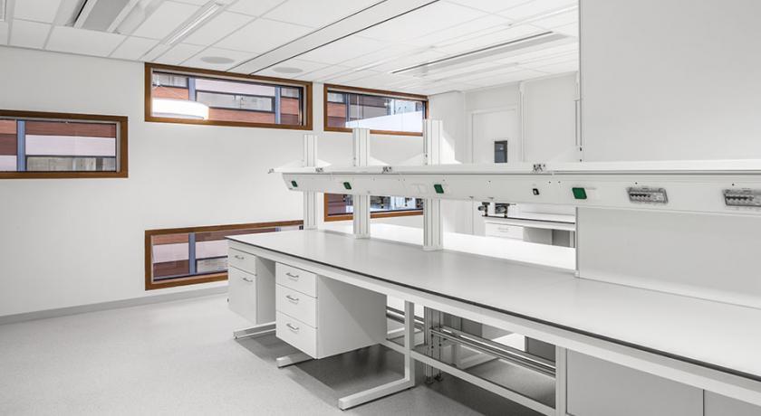 Laboreinrichtung Amsterdam